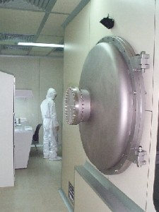 Detector test chamber