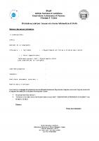 Richiesta per la creazione di un account di sistema e di posta
