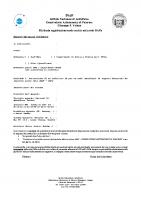 Richiesta per l'assegnazione di un indirizzo IP per un apparato mobile